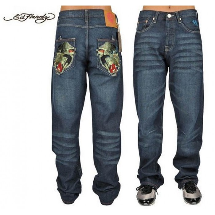 Ed Hardy Mens Jeans 2424 Outlet Factory Online Store