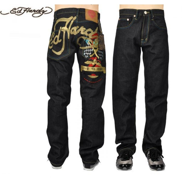 Ed Hardy Mens Jeans 1516 largest collection