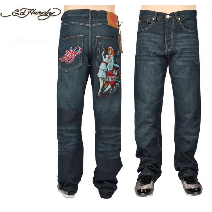 Ed Hardy Mens Jeans 2680 cheapest online