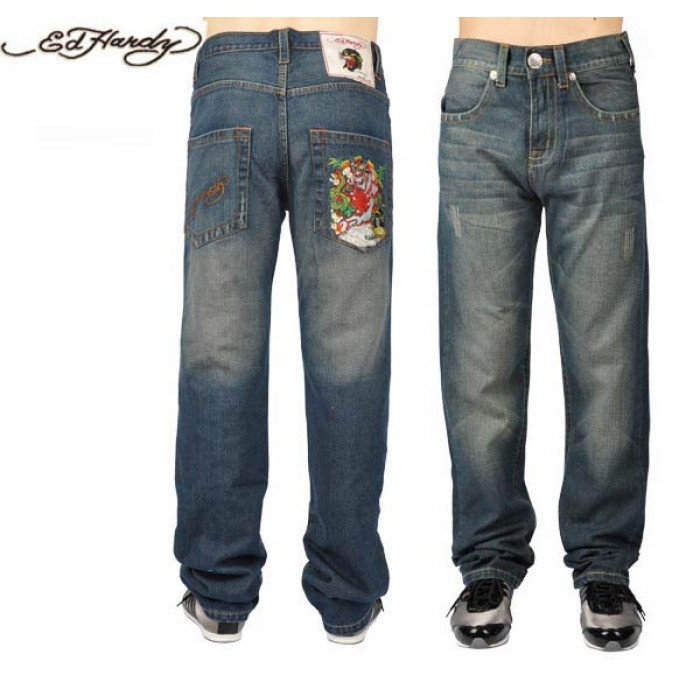 Ed Hardy Mens Jeans 2456 Sale UK