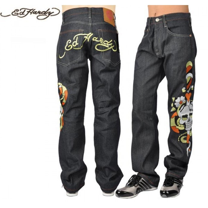 Ed Hardy Mens Jeans 1350 USA Sale Online Store