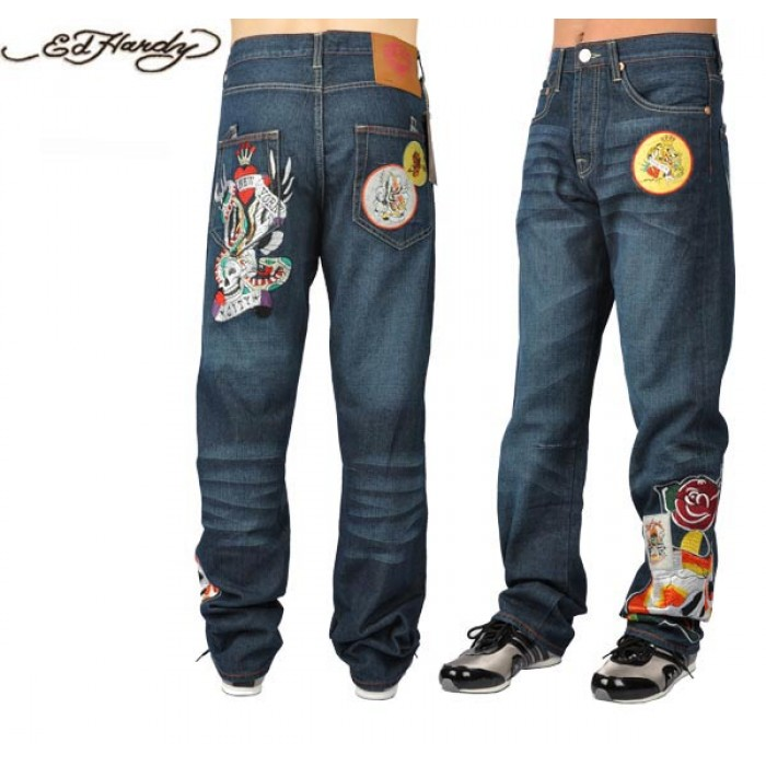 Ed Hardy Mens Jeans 1540 wholesale price