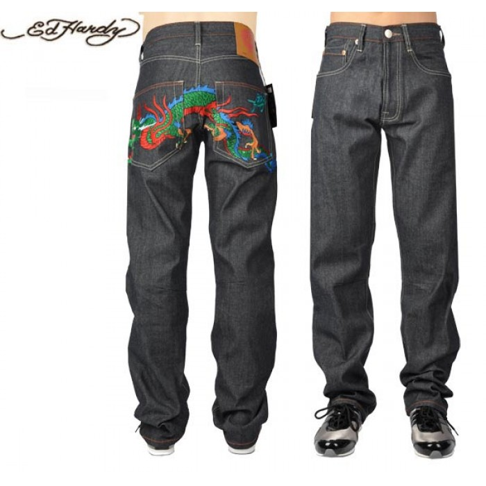 Ed Hardy Mens Jeans 2515 unique design