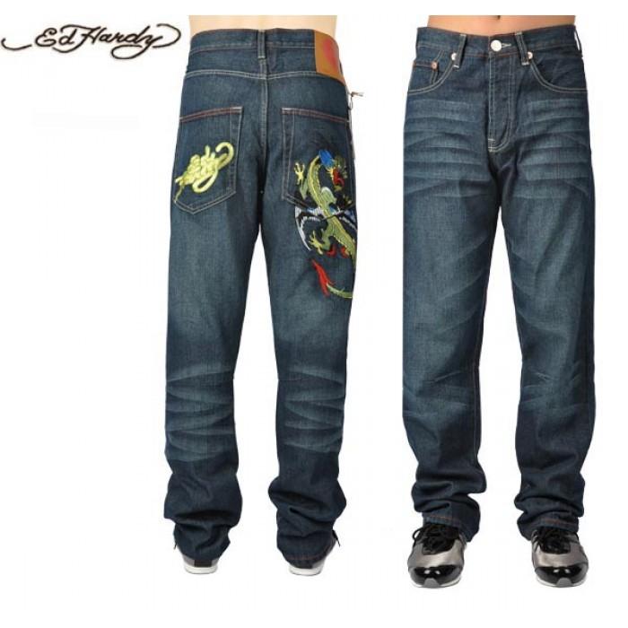 Ed Hardy Mens Jeans 1337 USA Cheap Sale