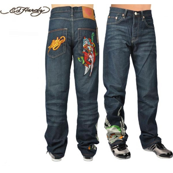 Ed Hardy Mens Jeans 1917 various design