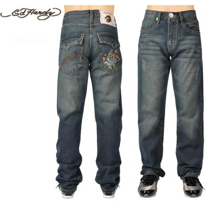 Ed Hardy Mens Jeans 2401 Classic Styles