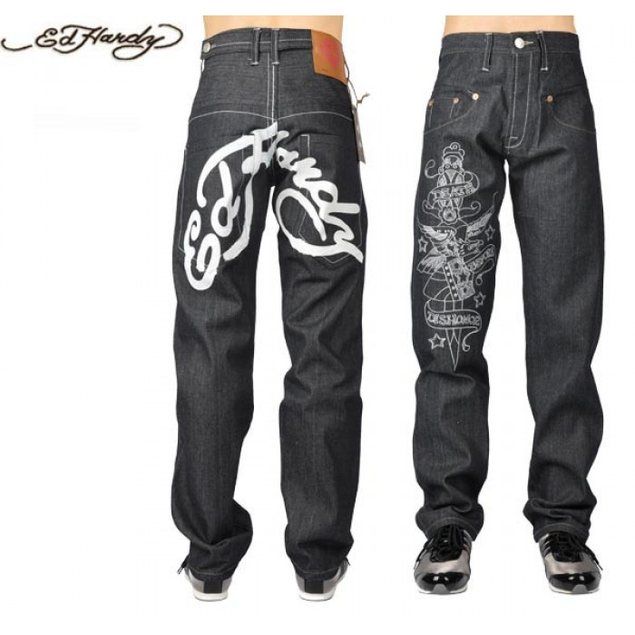 Ed Hardy Mens Jeans 2126 Exclusive