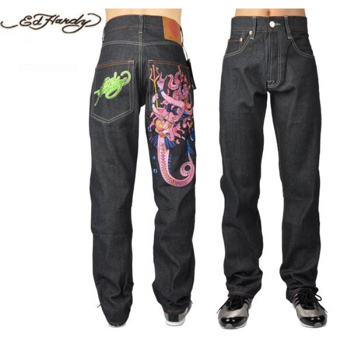 Ed Hardy Mens Jeans 2675 Best Discount Price