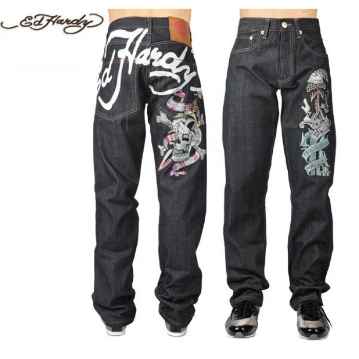 Ed Hardy Mens Jeans 2222 New Arrival