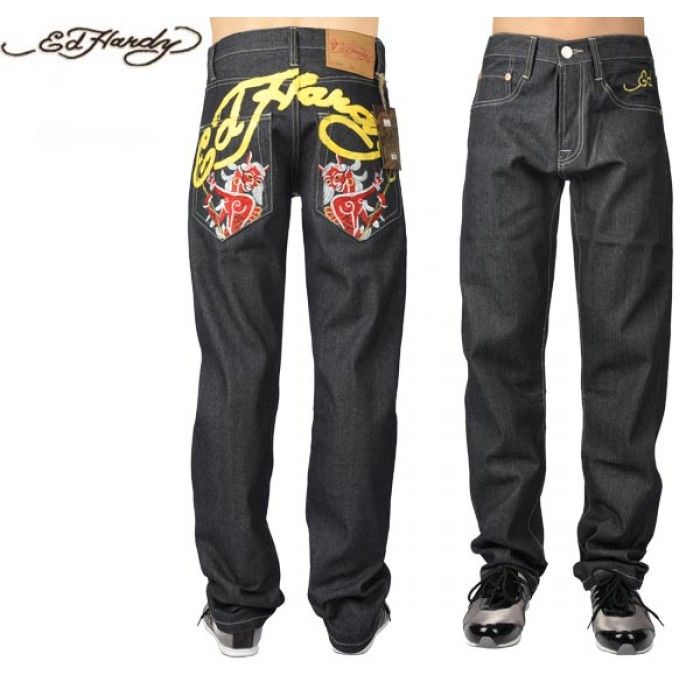Ed Hardy Mens Jeans 2078 official website