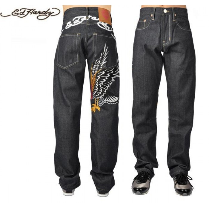 Ed Hardy Mens Jeans 1598 USA factory outlet