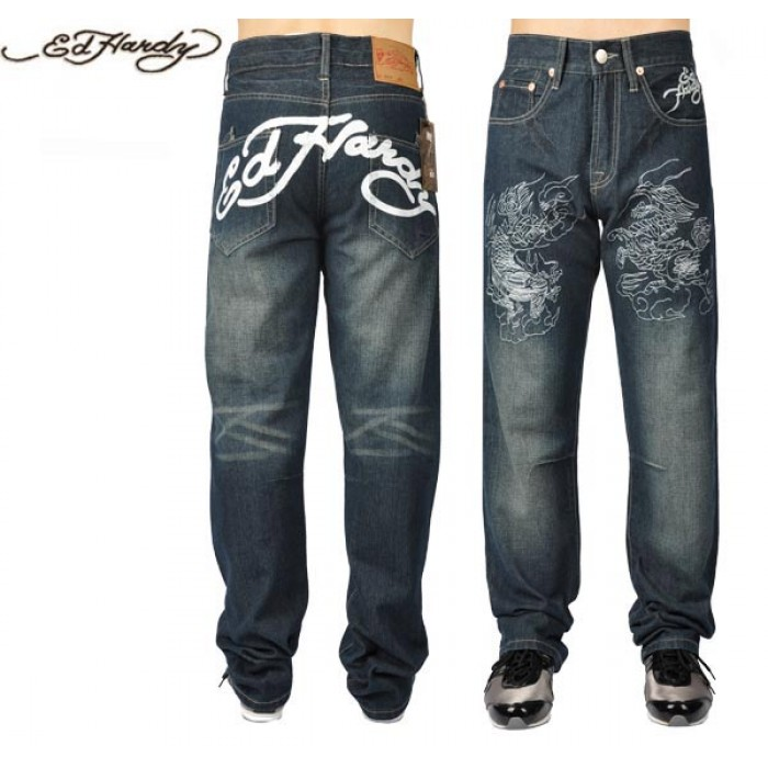 Ed Hardy Mens Jeans 2819 on sale