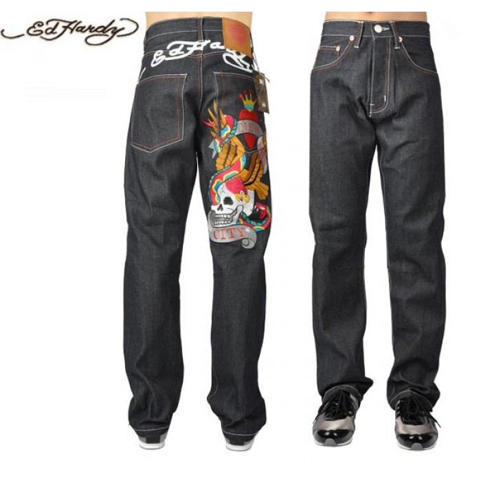 Ed Hardy Mens Jeans 1351 Unbeatable Offers