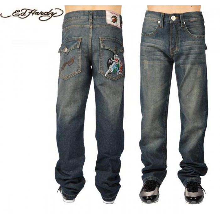 Ed Hardy Mens Jeans 2882 Discount Save up to