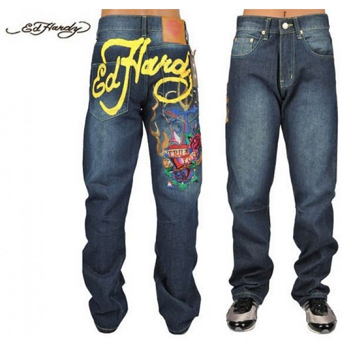 Ed Hardy Mens Jeans 1702 Wholesale