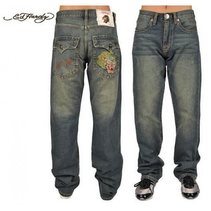 Ed Hardy Mens Jeans 2089 luxury fashion brands
