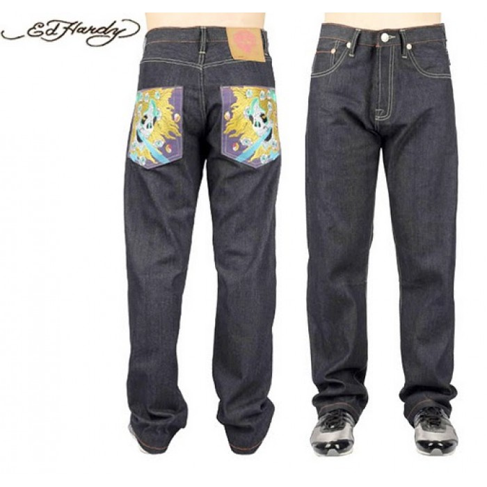Ed Hardy Mens Jeans 1353 popular stores