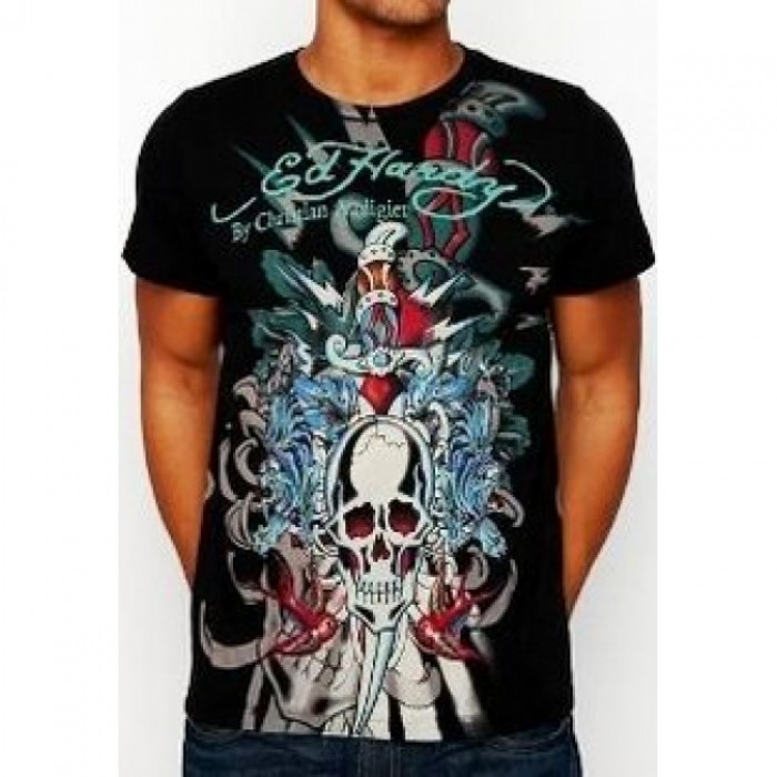 ED Hardy Mens Short Sleeve Tees incredible prices