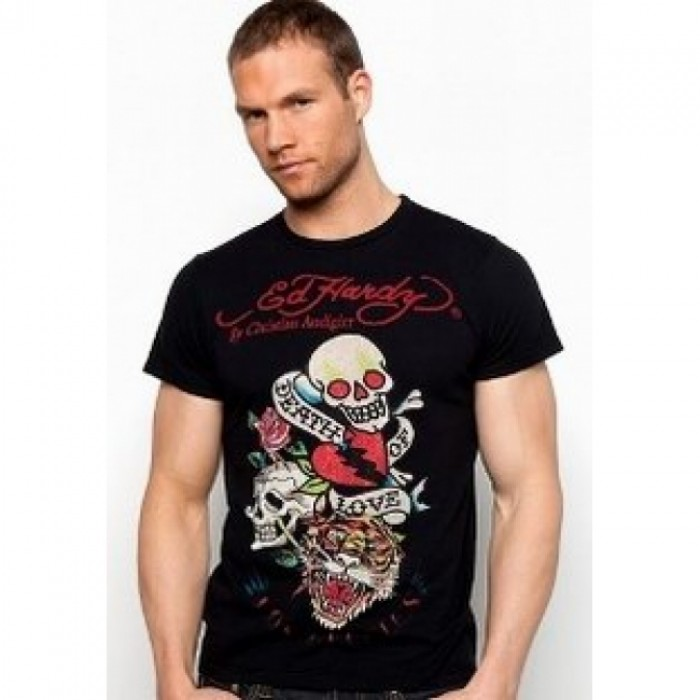 ED Hardy Mens Short Sleeve Tees clothing official website