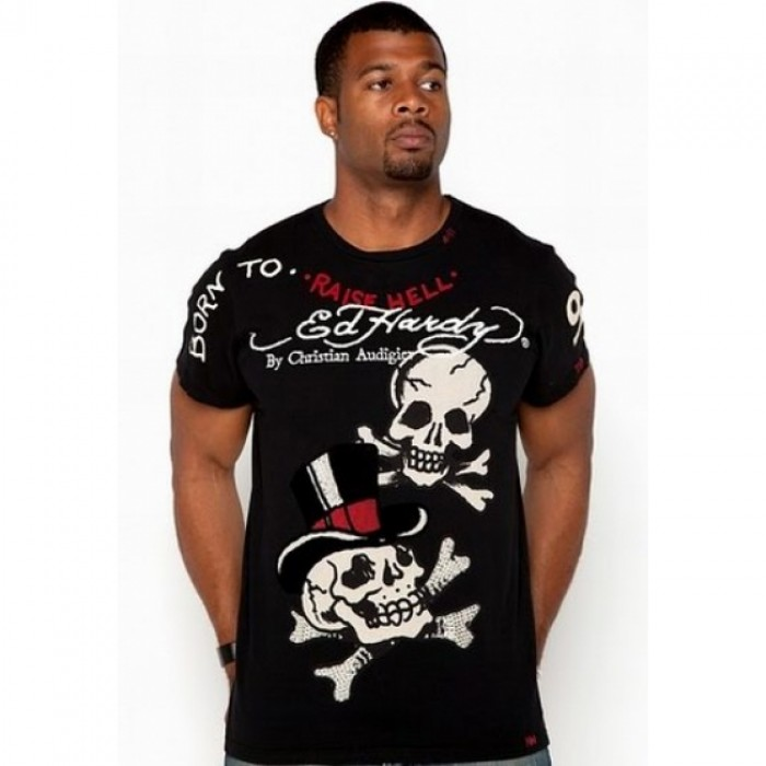 ED Hardy Mens Short Sleeve Tees discount clothing