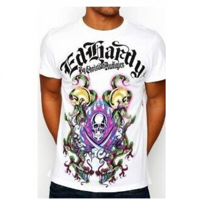 ED Hardy Mens Short Sleeve Tees discount