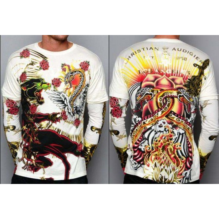 Ed Hardy Christian Audigier Long Sleeve unique design