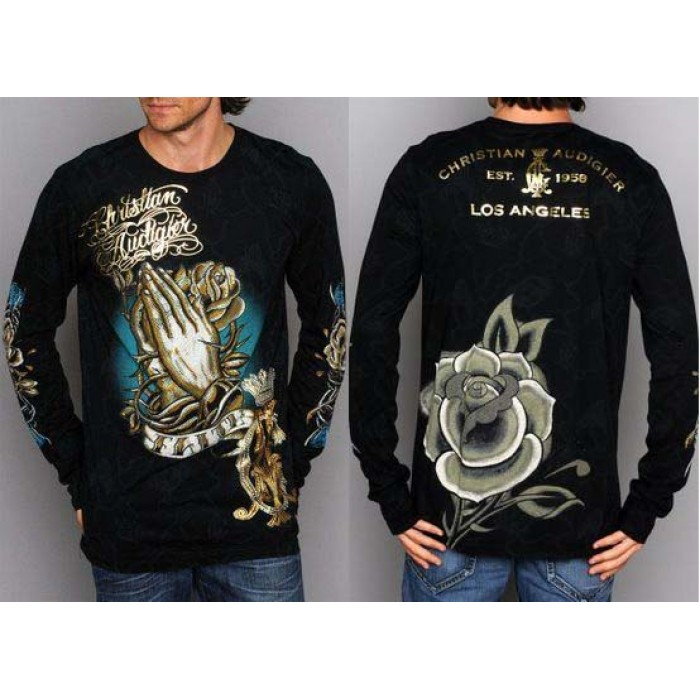 Ed Hardy Christian Audigier Long Sleeve various design