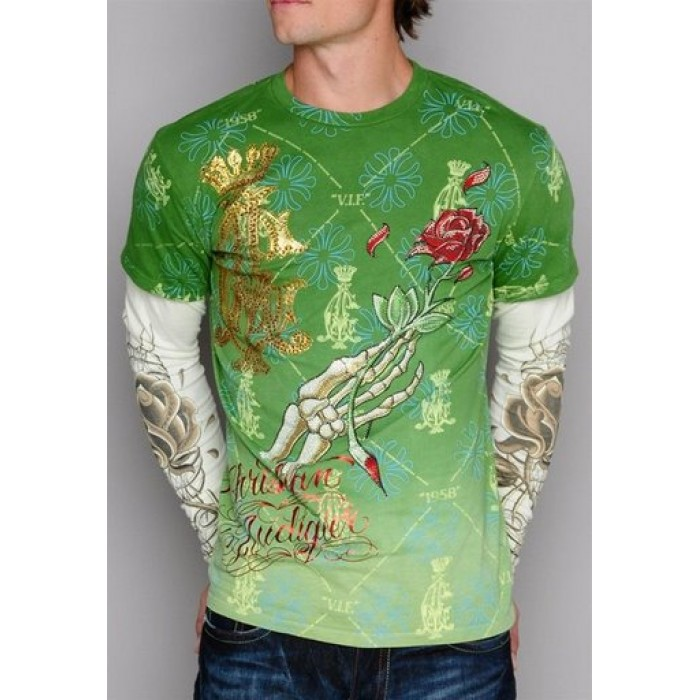 Ed Hardy Christian Audigier Long Sleeve largest collection