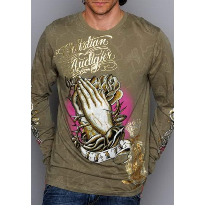 Ed Hardy Christian Audigier Long Sleeve Discount Save up to