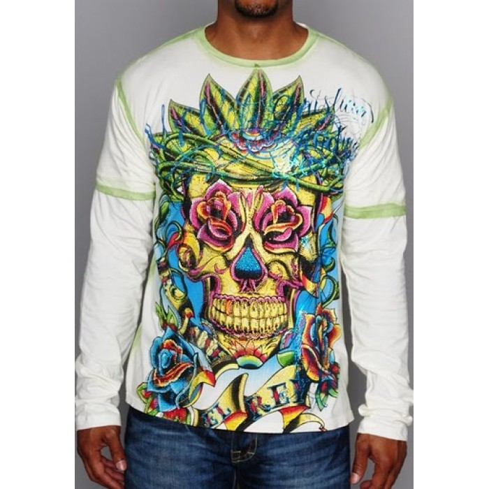 Ed Hardy Christian Audigier Long Sleeve 100 top quality