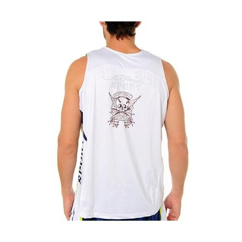 Hot Ed Hardy Mens Panther Mystic Training Singlet