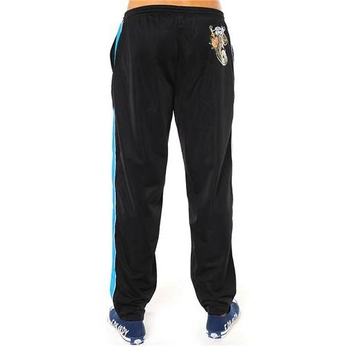 Hot Ed Hardy Mens Rattlesnake Basketball Pants Black