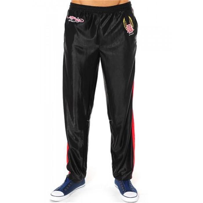 Hot Ed Hardy Mens EH Eagle Basketball Pants Black