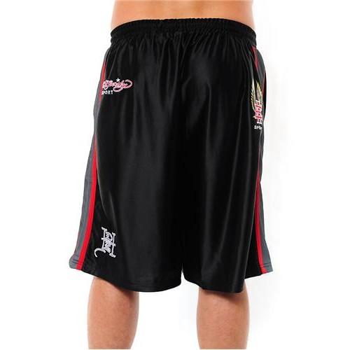 Hot Ed Hardy Mens EH Eagle Training Shorts Black