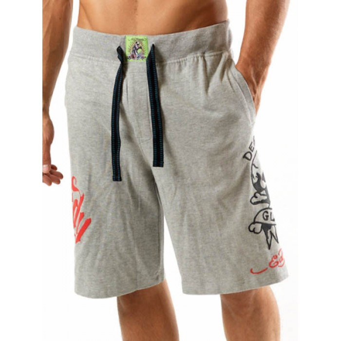 Ed Hardy Mens beach pants grey newest collection