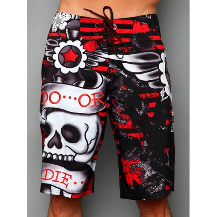 Ed Hardy Mens beach pants black No Sale Tax