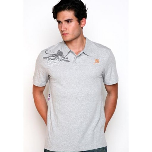 Ed Hardy Surf Rats Enzyme Washed Polo