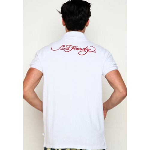 Ed Hardy Mens Tiger Signature Embroidered 02