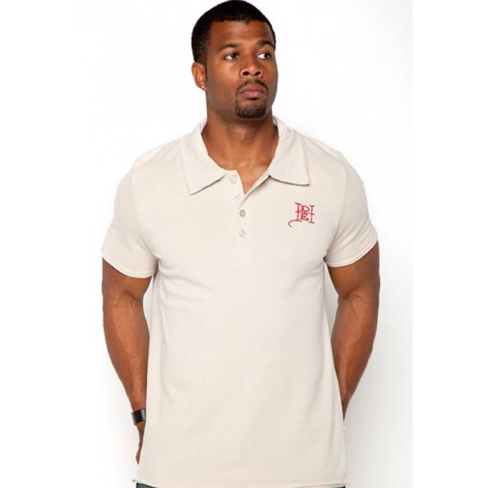 Ed Hardy For The World Enzyme Wash Mens Polo