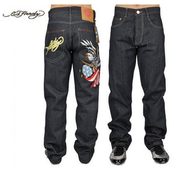 Ed Hardy Mens Jeans 0072 Best Discount Price