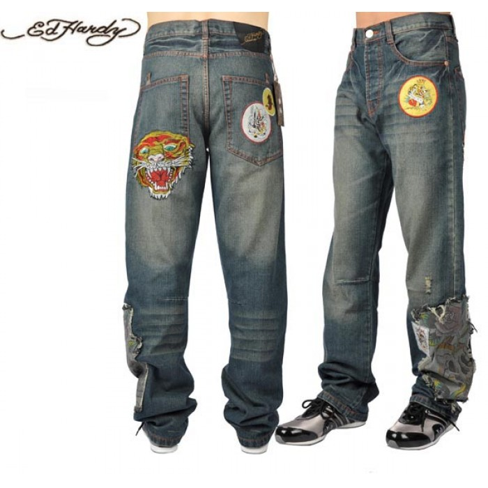 Ed Hardy Mens Jeans 0203 Lowest Price Online