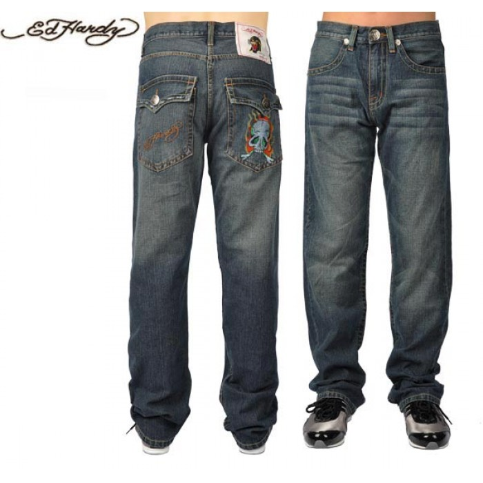 Ed Hardy Mens Jeans 0983 reasonable sale price