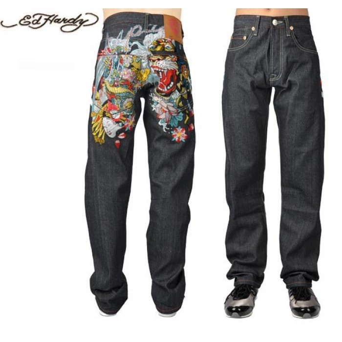 Ed Hardy Mens Jeans 0270 luxuriant in design