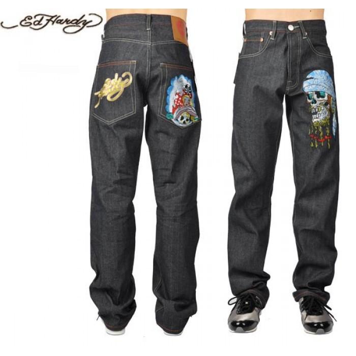 Ed Hardy Mens Jeans 0192 saletimeless