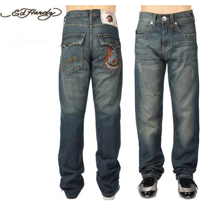 Ed Hardy Mens Jeans 0582 utterly stylish