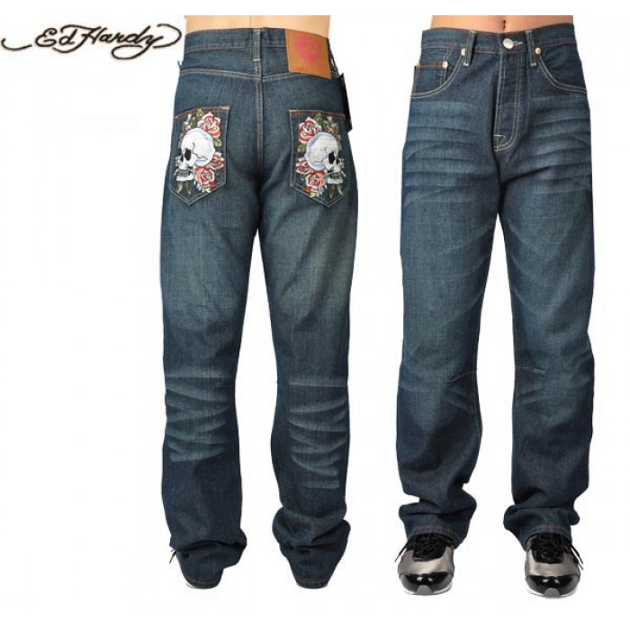 Ed Hardy Mens Jeans 0376 Shop Store