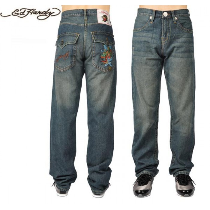 Ed Hardy Mens Jeans 0994 clothing outlet