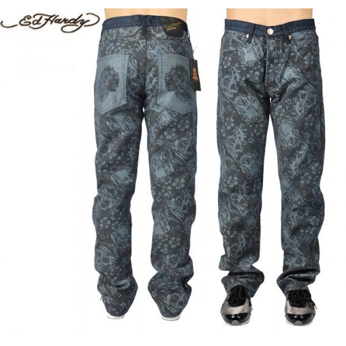 Ed Hardy Mens Jeans 0642 on sale UK