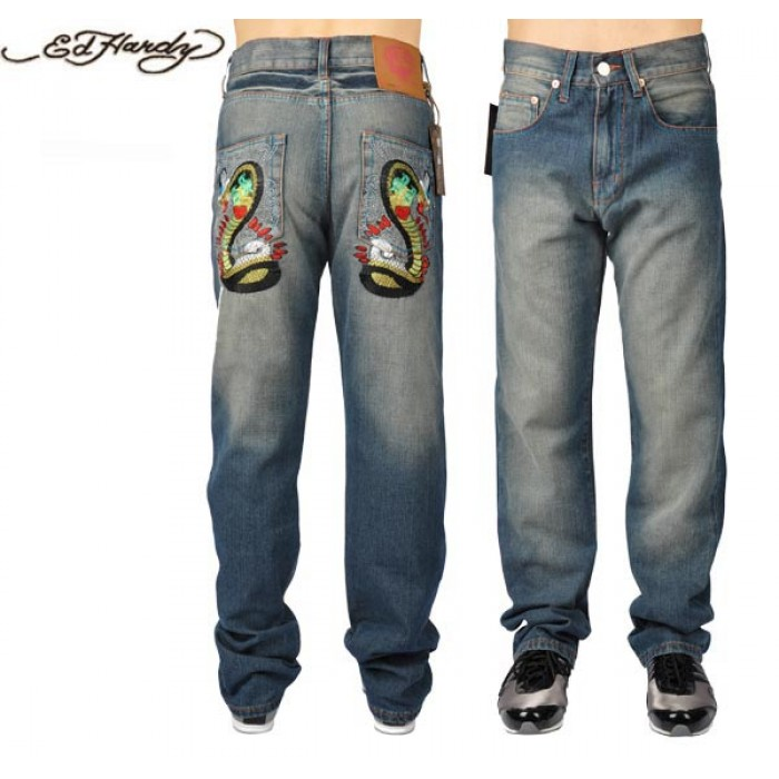 Ed Hardy Mens Jeans 0953 unique