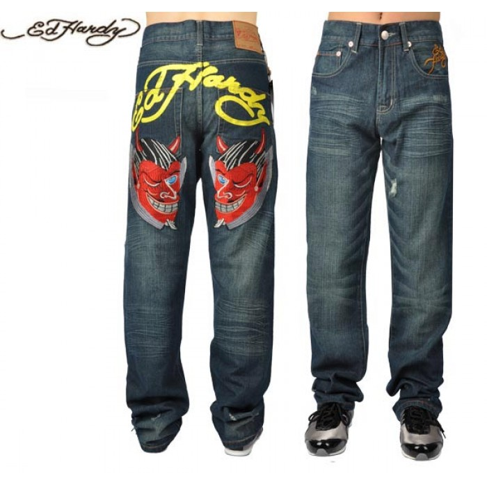 Ed Hardy Mens Jeans 0318 fabulous collection